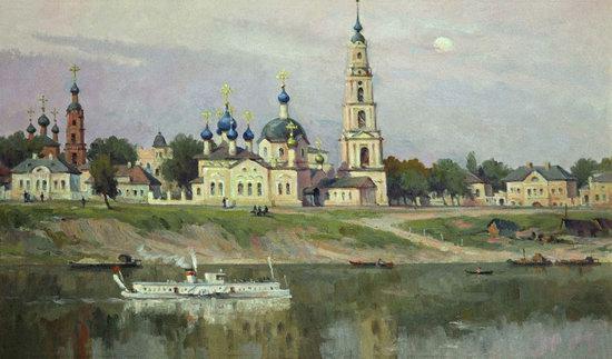 Flooded bell tower, Kalyazin, Tver region, Russia, photo 17