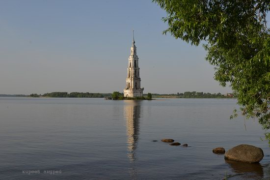 Flooded bell tower, Kalyazin, Tver region, Russia, photo 2