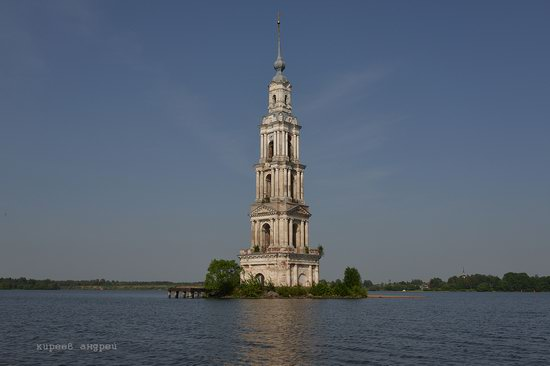 Flooded bell tower, Kalyazin, Tver region, Russia, photo 4