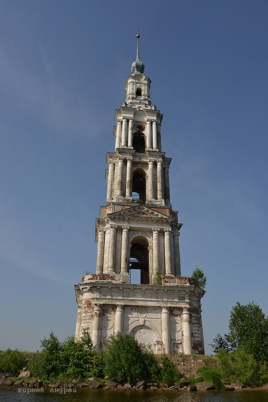 Flooded bell tower, Kalyazin, Tver region, Russia, photo 5