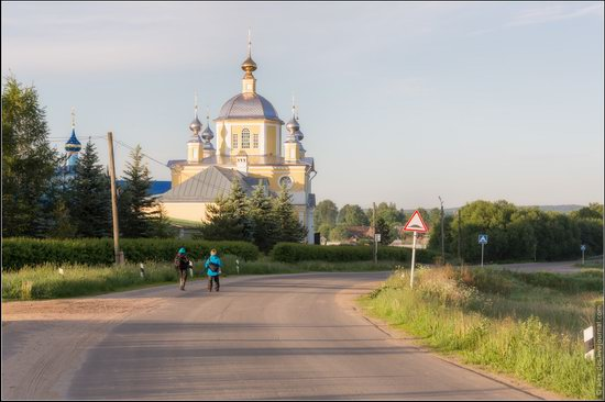Morning in Vvedenye village, Ivanovo region, Russia, photo 11