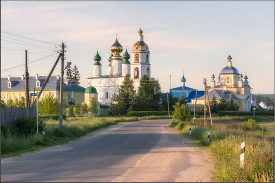 Morning in Vvedenye village, Ivanovo region, Russia, photo 12