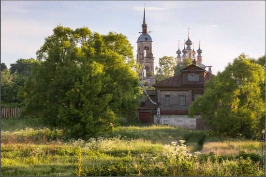 Morning in Vvedenye village, Ivanovo region, Russia, photo 13