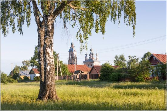 Morning in Vvedenye village, Ivanovo region, Russia, photo 15
