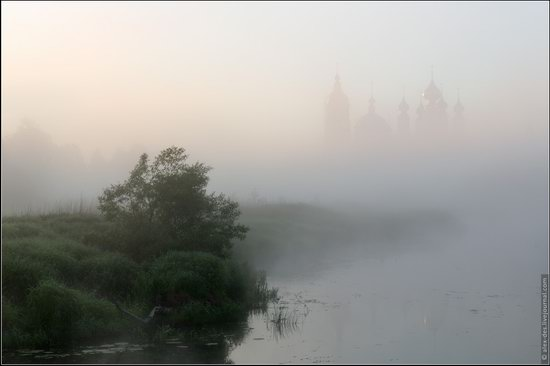 Morning in Vvedenye village, Ivanovo region, Russia, photo 2