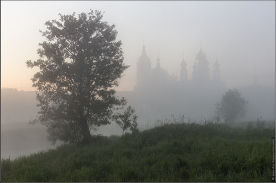 Morning in Vvedenye village, Ivanovo region, Russia, photo 5