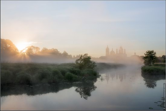 Morning in Vvedenye village, Ivanovo region, Russia, photo 6