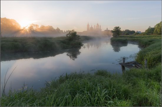 Morning in Vvedenye village, Ivanovo region, Russia, photo 7