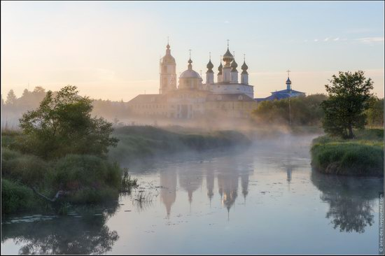 Morning in Vvedenye village, Ivanovo region, Russia, photo 8