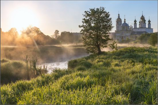 Morning in Vvedenye village, Ivanovo region, Russia, photo 9