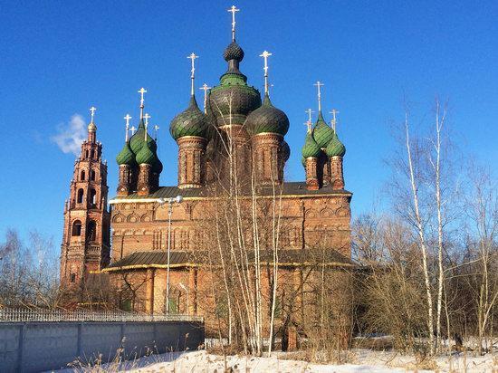 St. John the Baptist Church, Yaroslavl, Russia, photo 5