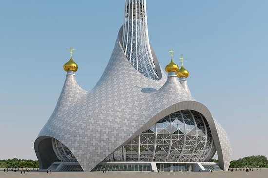 The draft concept of St. Catherine Cathedral, Ekaterinburg, Russia, photo 10