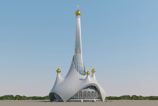 The draft concept of St. Catherine Cathedral, Ekaterinburg, Russia, photo 11