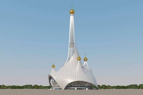 The draft concept of St. Catherine Cathedral, Ekaterinburg, Russia, photo 12
