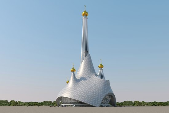 The draft concept of St. Catherine Cathedral, Ekaterinburg, Russia, photo 13