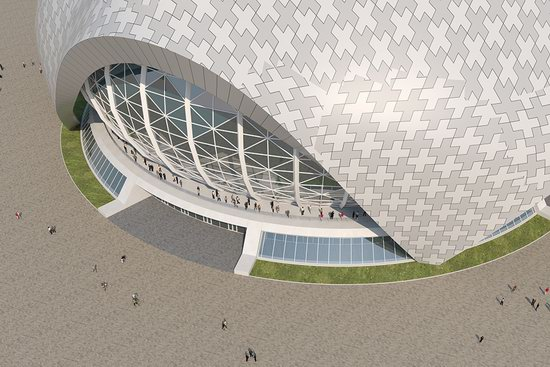 The draft concept of St. Catherine Cathedral, Ekaterinburg, Russia, photo 15
