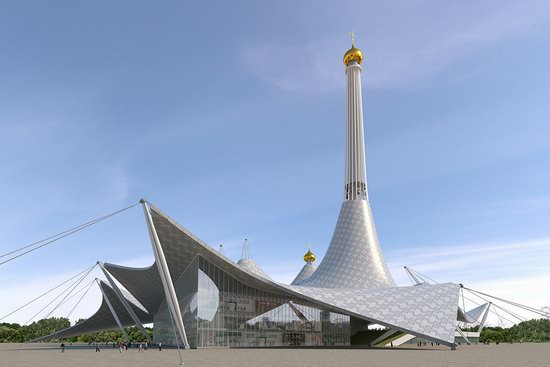 The draft concept of St. Catherine Cathedral, Ekaterinburg, Russia, photo 18