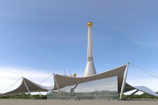 The draft concept of St. Catherine Cathedral, Ekaterinburg, Russia, photo 19
