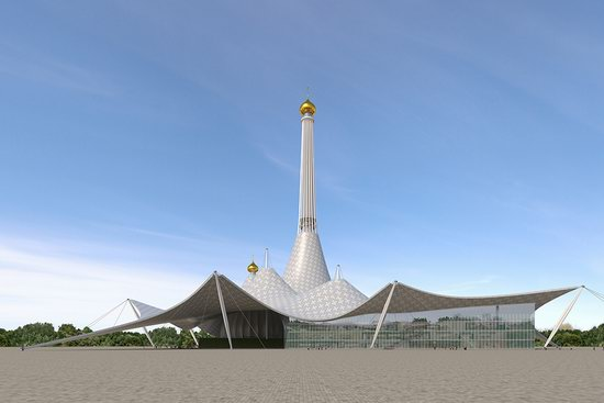 The draft concept of St. Catherine Cathedral, Ekaterinburg, Russia, photo 20