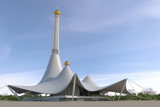 The draft concept of St. Catherine Cathedral, Ekaterinburg, Russia, photo 22
