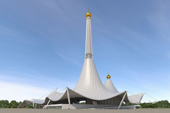 The draft concept of St. Catherine Cathedral, Ekaterinburg, Russia, photo 23