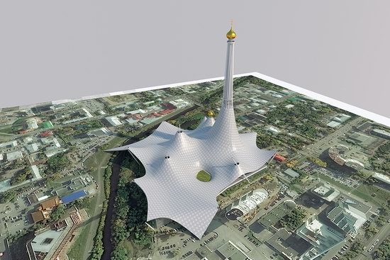 The draft concept of St. Catherine Cathedral, Ekaterinburg, Russia, photo 24