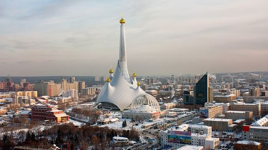 The draft concept of St. Catherine Cathedral, Ekaterinburg, Russia, photo 6
