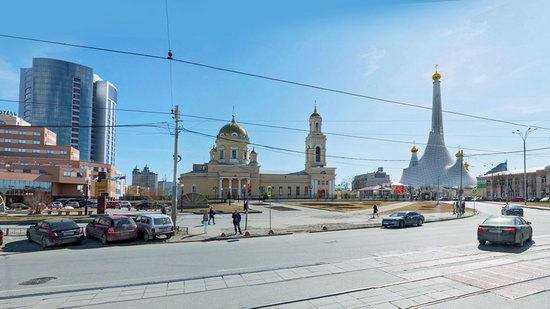 The draft concept of St. Catherine Cathedral, Ekaterinburg, Russia, photo 9