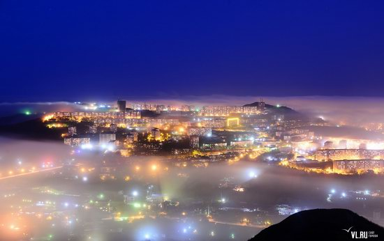 Foggy day in Vladivostok, Russia, photo 11