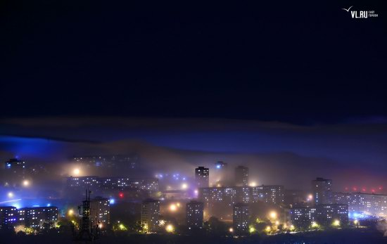 Foggy day in Vladivostok, Russia, photo 14
