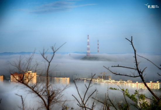 Foggy day in Vladivostok, Russia, photo 16