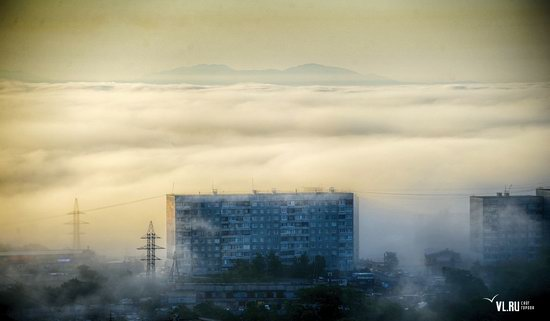 Foggy day in Vladivostok, Russia, photo 17