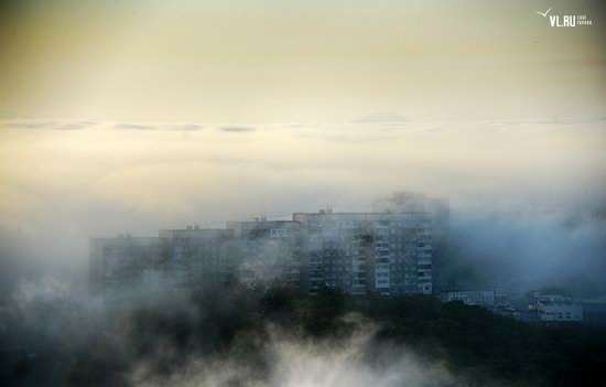 Foggy day in Vladivostok, Russia, photo 20