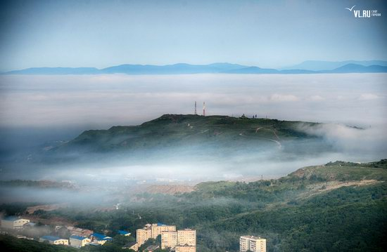 Foggy day in Vladivostok, Russia, photo 22