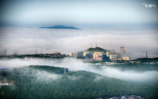 Foggy day in Vladivostok, Russia, photo 23