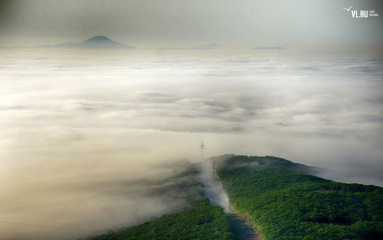 Foggy day in Vladivostok, Russia, photo 24
