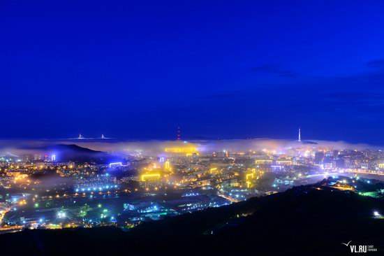 Foggy day in Vladivostok, Russia, photo 6