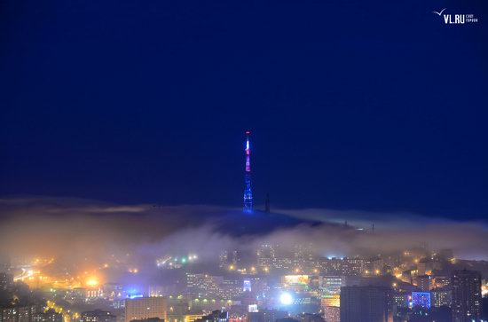 Foggy day in Vladivostok, Russia, photo 7