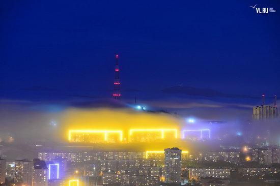 Foggy day in Vladivostok, Russia, photo 8