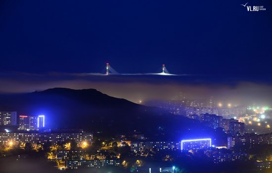 Foggy day in Vladivostok, Russia, photo 9
