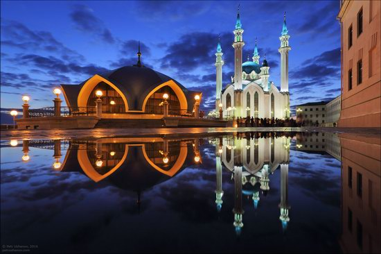 Kazan Kremlin, fireworks on the City Day, Russia, photo 10