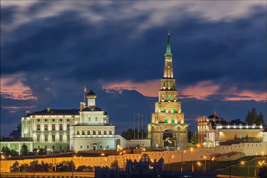 Kazan Kremlin, fireworks on the City Day, Russia, photo 5
