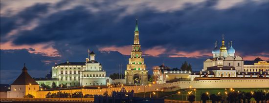 Kazan Kremlin, fireworks on the City Day, Russia, photo 6
