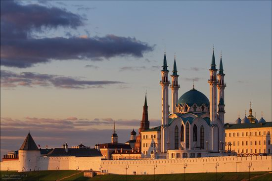 Kazan Kremlin, fireworks on the City Day, Russia, photo 8
