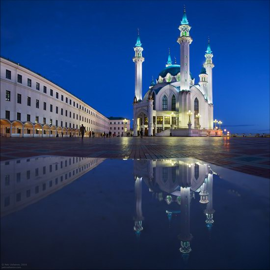 Kazan Kremlin, fireworks on the City Day, Russia, photo 9