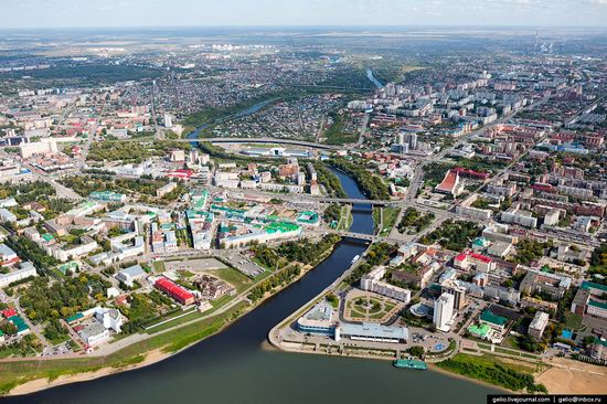 Omsk from above, Russia, photo 1
