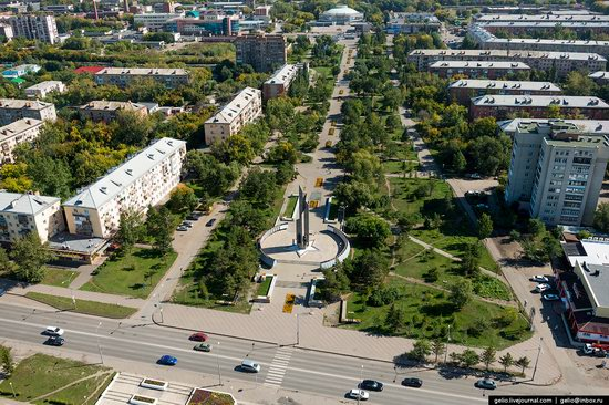Omsk from above, Russia, photo 13