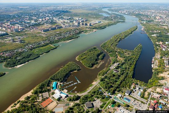 Omsk from above, Russia, photo 19