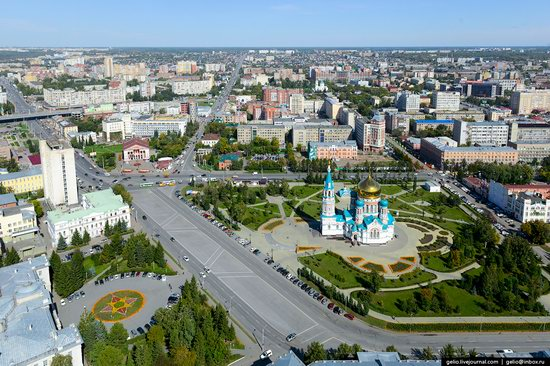 Omsk from above, Russia, photo 2