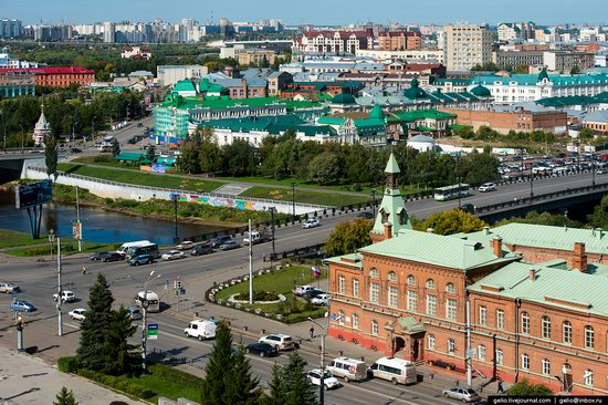 Omsk from above, Russia, photo 27